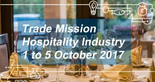 Hospitality Industry Trade Mission to London 1-5 October 2017