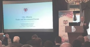Conference the UK – Albanian Trade and Investment Forum